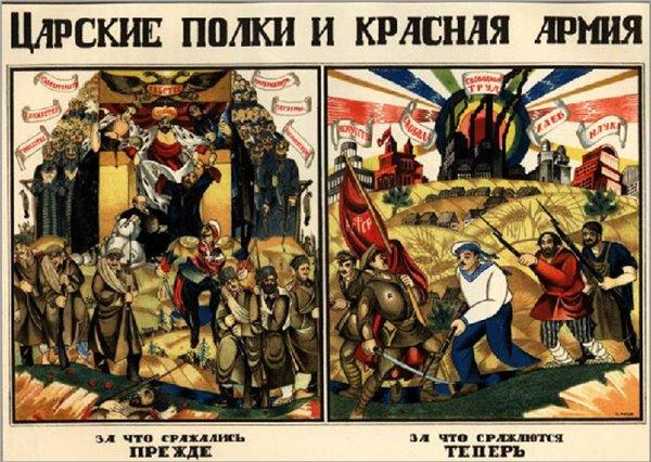 Гражданская война в россии вожди и